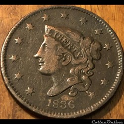 1836 One Cent