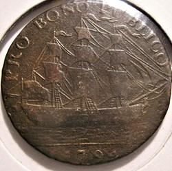 1794 HalfPenny Sir Bevois -  J. Jordan, ...
