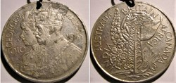 George V & Mary - 1935 Official Silver J...