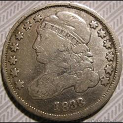 1833 Dime - 10 Cents (2)