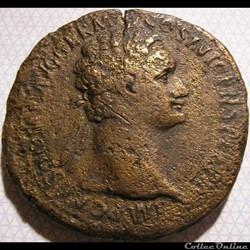 Domitian - Sesterce, Rome ca. 92-94 AD. ...