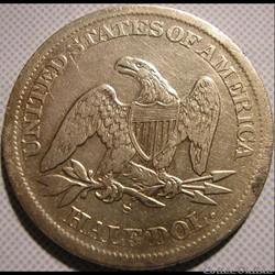 1864 S - Half Dollar
