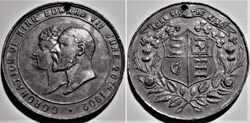 "Edward VII - 1902 Coronation Medal ""Long..."
