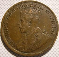 George V - 1 Cent 1917