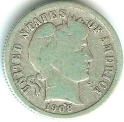 1908 Denver Dime