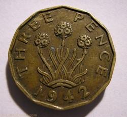 George VI - 3 Pence 1942 - Great Britain