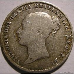Victoria - Sixpence 1865 Kingdom of Great Britain
