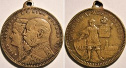 Edward VII & Alexandra - Medalet, the Cr...