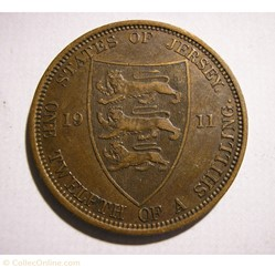 George V - 1/12 Shilling 1911 - Jersey (...
