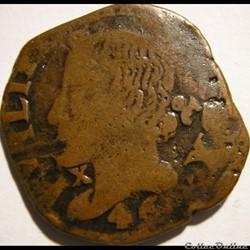 1646 Royaume de Naples, Grano - Felipe IV d'Espagne