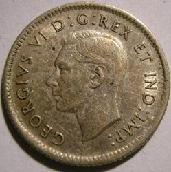 George VI - 10 Cents 1942