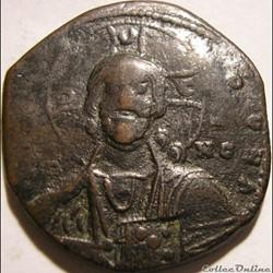 Anonyme X à XIème s. Follis Constantinople