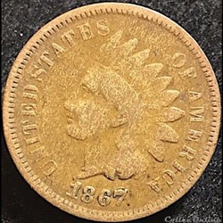 1867 One Cent