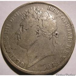 George IV - Crown 1822 - Kingdom of Great Britain