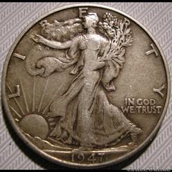 1947 Half Dollar