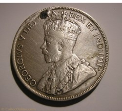 George V - 50 Cents 1919