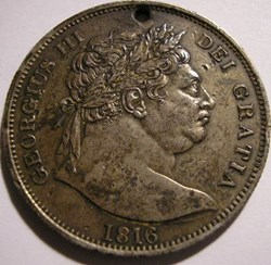 George III - Half Crown 1816 - Great Bri...