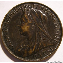 Victoria - One Farthing 1899 - Kingdom of Great Britain