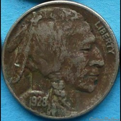1928 5 Cents