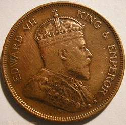 Edward VII - One Cent 1903 - Straits Set...