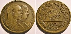 Edward VII & Alexandra - Token St George...