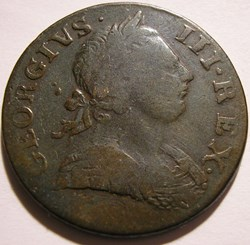George III - Half Penny 1771 Great Brita...