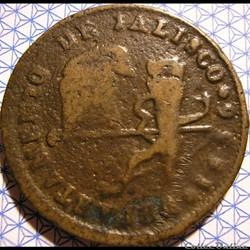 México - 1/4 Real 1836 Estado Jalisco - 1st Republic