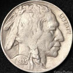 1935 Denver 5 Cents