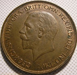 George V - One Penny 1935 - United Kingd...