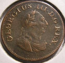 George III - Farthing 1806 Ireland