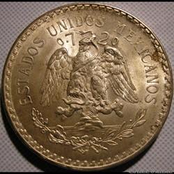 México - 1944 - Un Peso - Estados Unidos...