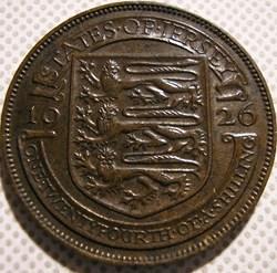 George V - 1/24 Shilling 1926 - Jersey