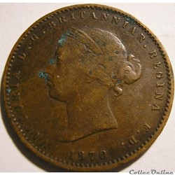 Victoria - 1/26 Shilling 1870 - States of Jersey