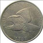 One Cent - Flying Eagle (1856-1858) USA