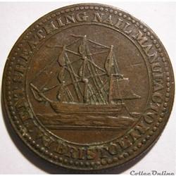 1812 HalfPenny Patent Sheathing Nail Manufactory - Bristol