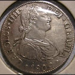 México - 2 Reales 1802 - Carlos IV de Es...