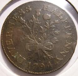 1794 Inverness - HalfPenny - Concordia &...