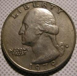1979 D Quarter Dollar