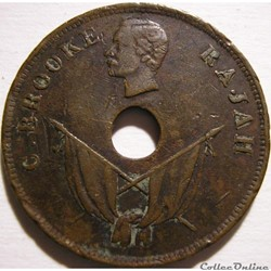 Charles Brooke - One Cent 1894 - Rajah of Sarawak