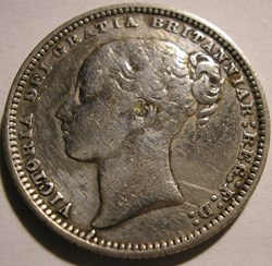 Victoria - 1 Shilling 1872 - Kingdom of ...