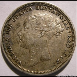 Victoria - Sixpence 1887 Kingdom of Great Britain