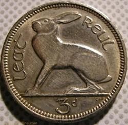 3 Pence / 3 Pingin 1961