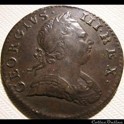 George III - Half Penny 1773