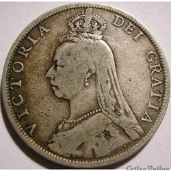 Victoria - One Florin 1891 - Kingdom of Great Britain