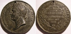 George IV GB - Coronation Medal 1821