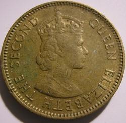Elizabeth II - 10 Cents 1958 - Hong Kong