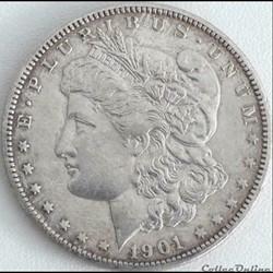 1901 New Orleans Dollar