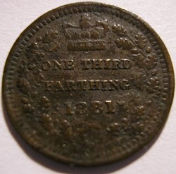 Victoria - One Third Farthing 1881 - Kin...