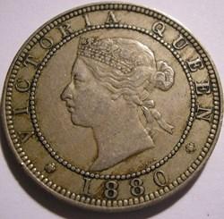 Victoria - One Penny 1880 - Jamaica Isla...