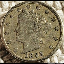 1893 5 Cents